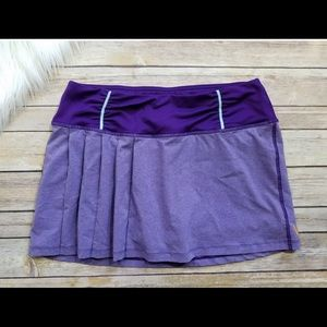NWT Women's Lucy Tech purple Athletic skort- skirt